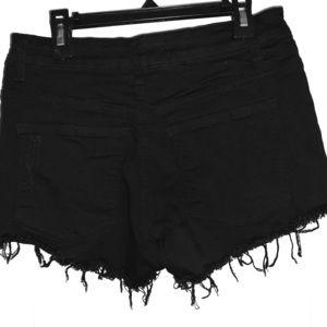 Black KanCan shorts Sz 28
